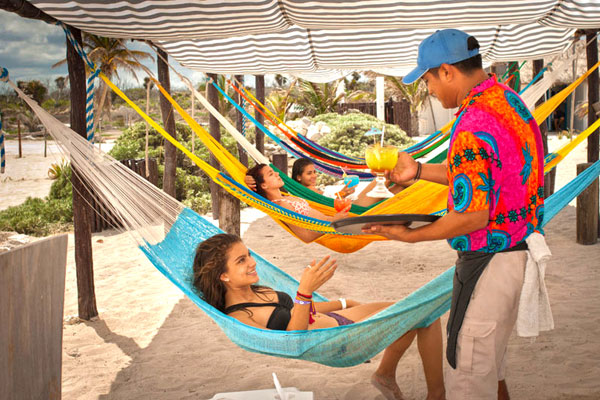 Hængekøje Hotel | Der er mange kreative måder at bruge hængekøjer på.