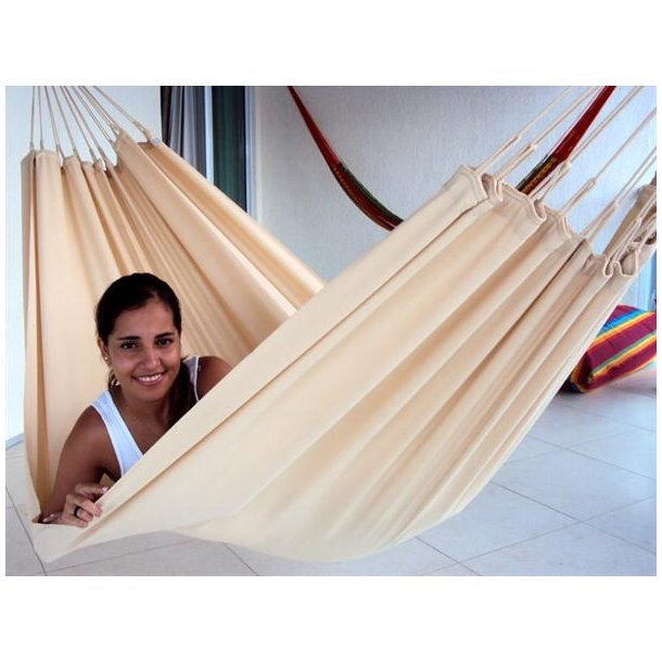 Beige hængekøje i outdoor PRO textil