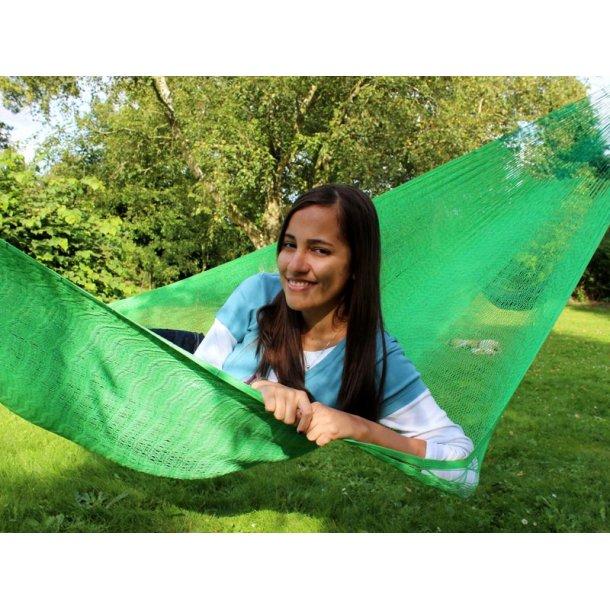 Klar og lys grøn hængekøje i net fra Mexico