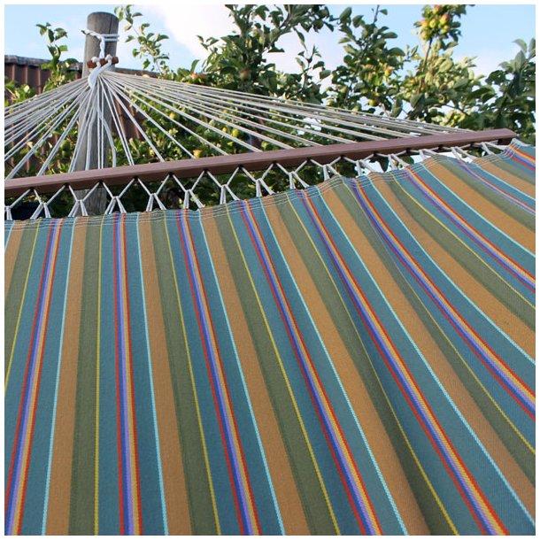Udendørs Hængekøje med 160 cm brede tværpinde | PRO outdoor hængekøje.