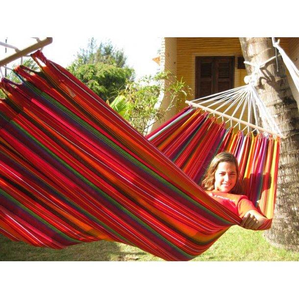 Guatemalamix Hængekøje med 80 cm brede rundstokke