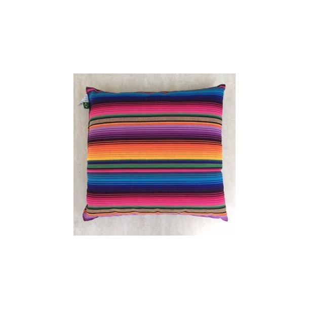 Indigo Pude 60 x 60 cm. Lækker blød og farverig