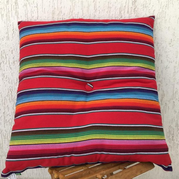 Pillow Alegro i Mexico Rødt design
