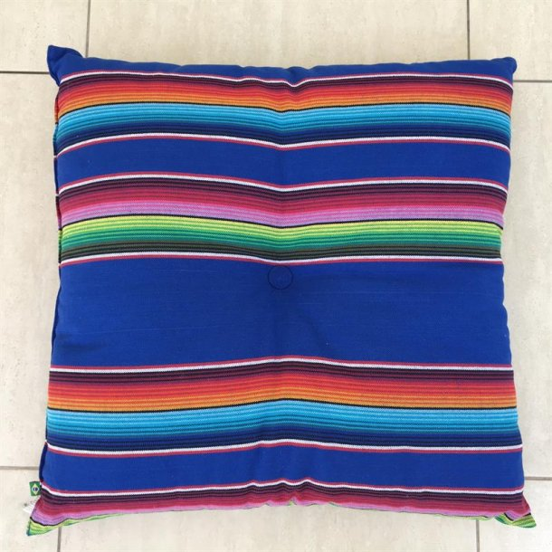 Pude med Mexico Blå Design til hængekøjer