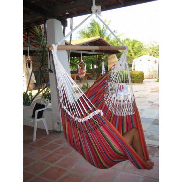 Mexican hængekøjestol i stof