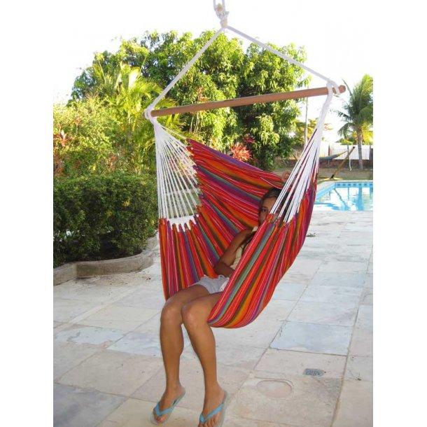 Hængekøjestol i Guatemala Textil