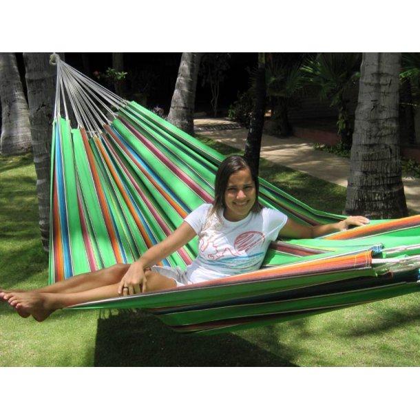 Mexico Grøn Hængekøje i Stærkt Stof til Leg & Hyg