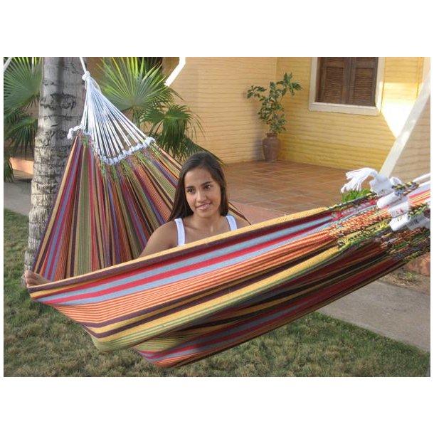 Samba hængekøjen i striber