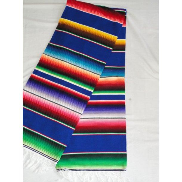 Mexico Tæppe med blå bundfarver