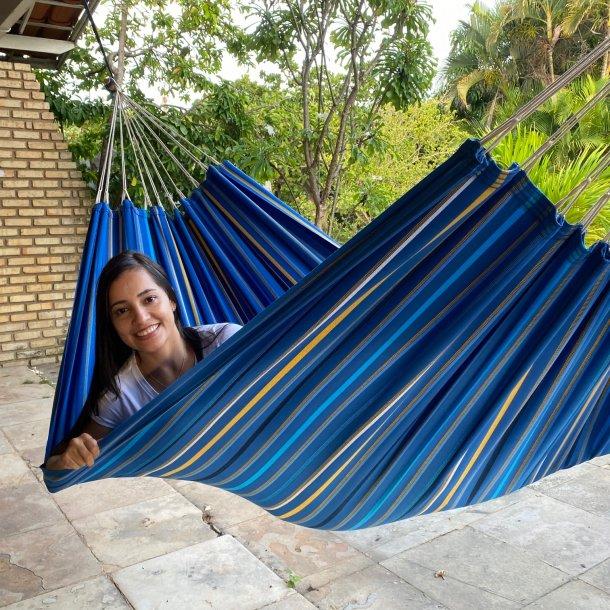 Blåmix outdoor hængekøje til 1 eller 2 personer